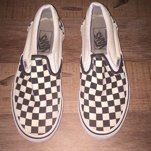 Classic slip on checkered vans